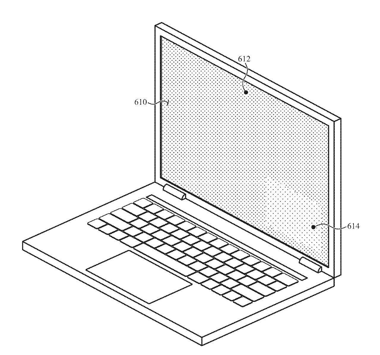 The same idea could be used in a MacBook Pro display