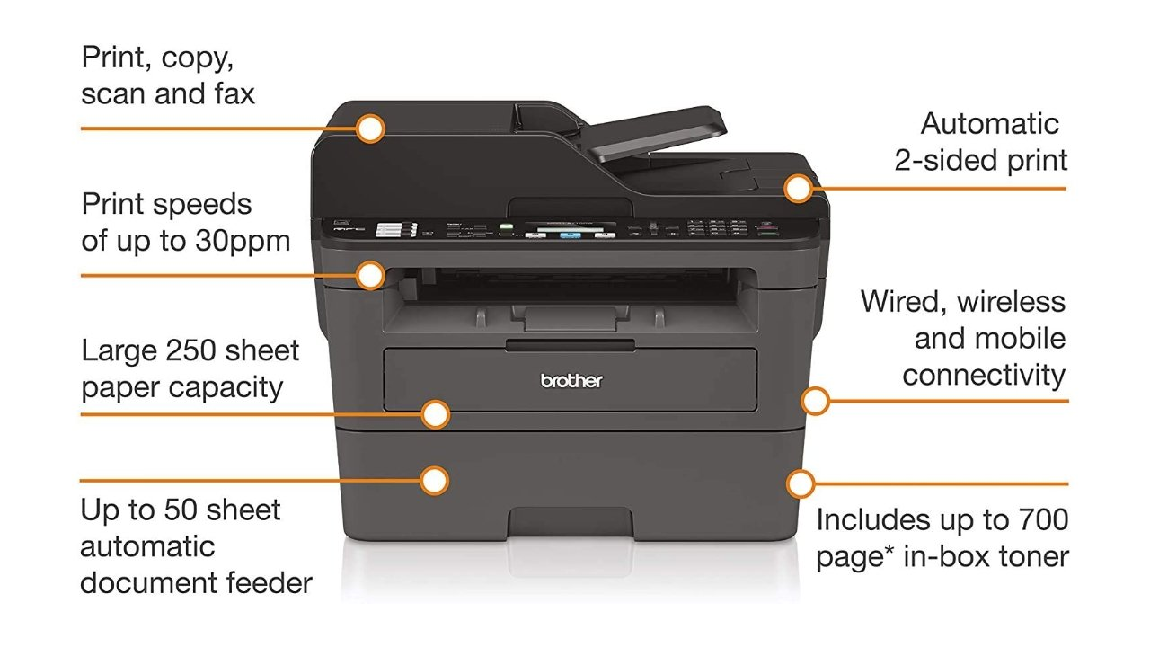 Brother Monochrome Laser Printer on sale for $199.99
