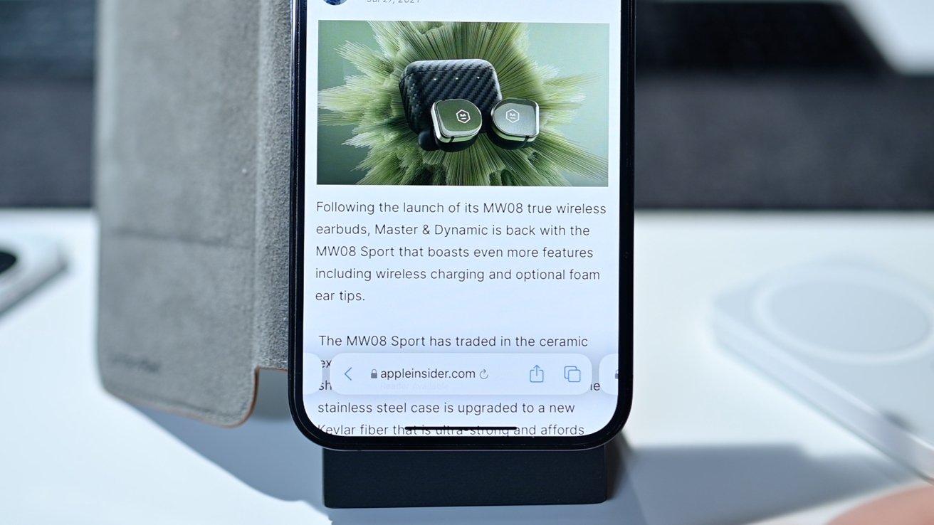 Safari's most recent redesign