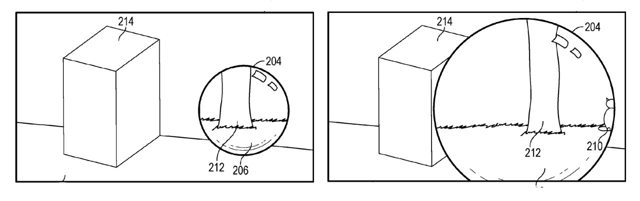 Dependiendo de su movimiento, Apple AR puede mostrarle una vista ampliada de su próximo destino virtual