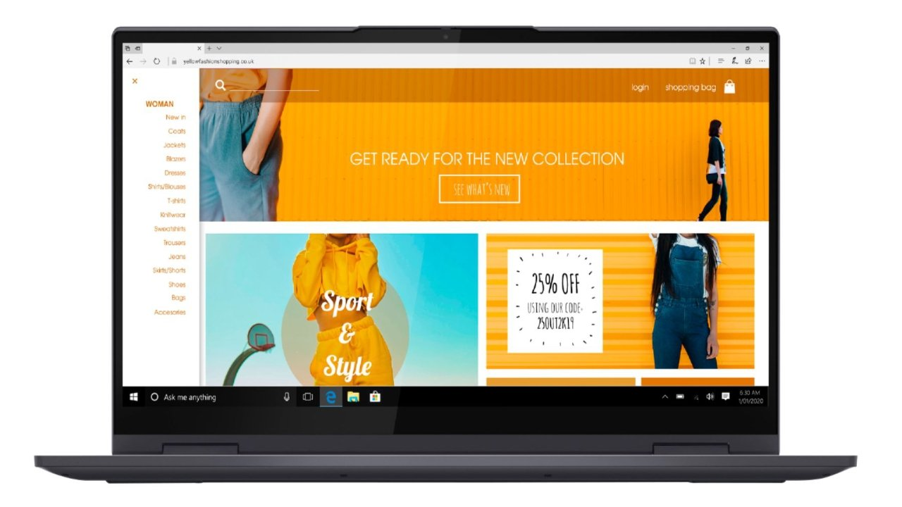 Lenovo laptop currently $250 off