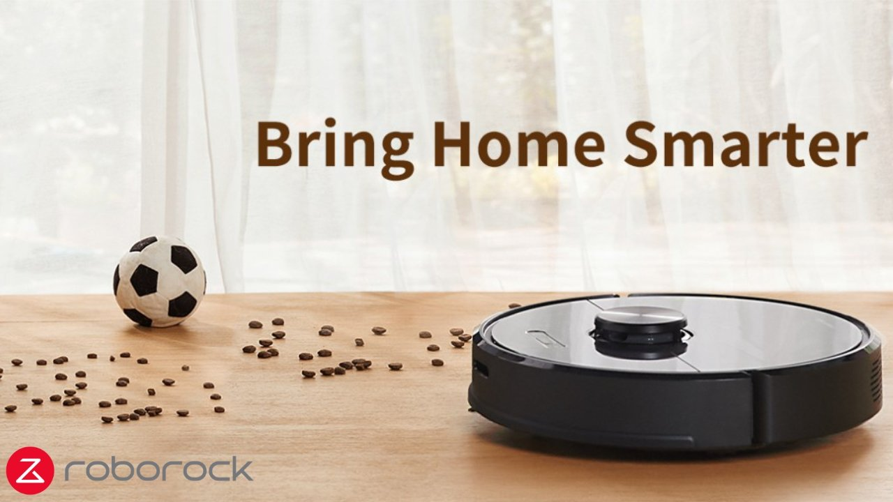 Roborock S6 Robotic Vacuum Cleaner currently $272 off
