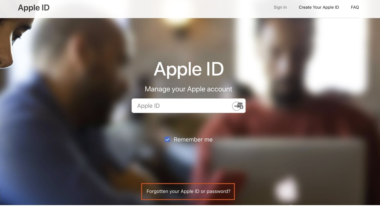 You can recover your Apple ID password from Apple's website.