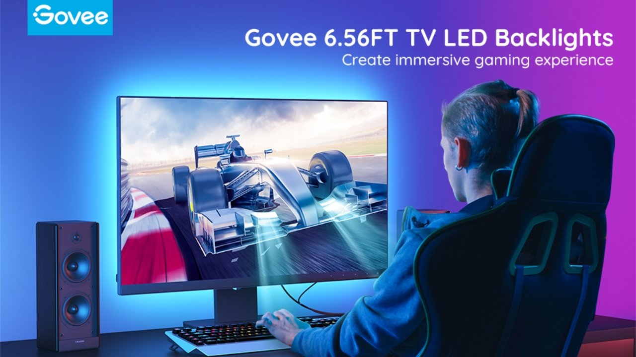 50% off Govee TV and Computer Monitor backlights