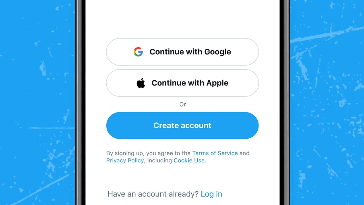 Twitter Sign in with Apple