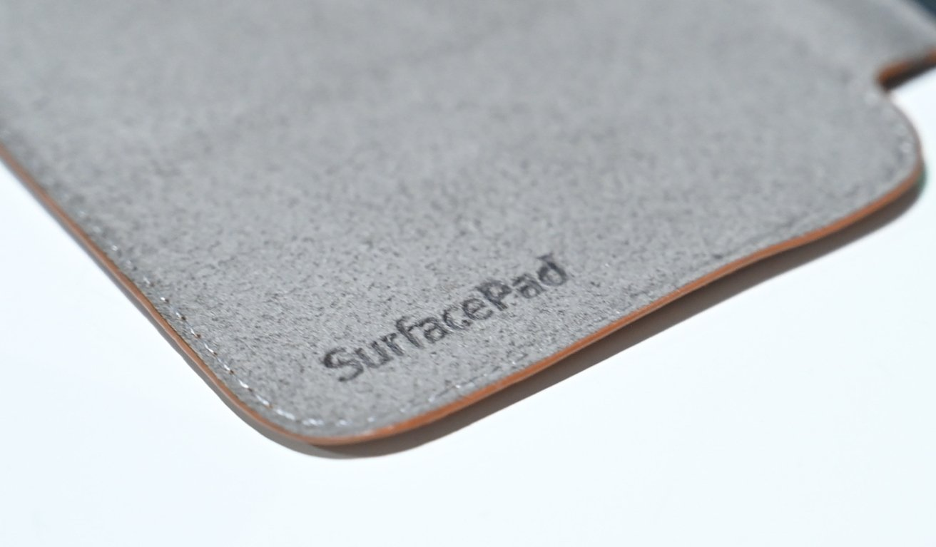 SurfacePad interior logo