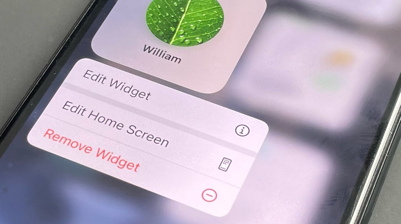 Choosing, editing and removing widgets remains the same in iOS 15, but there are more - and they do more