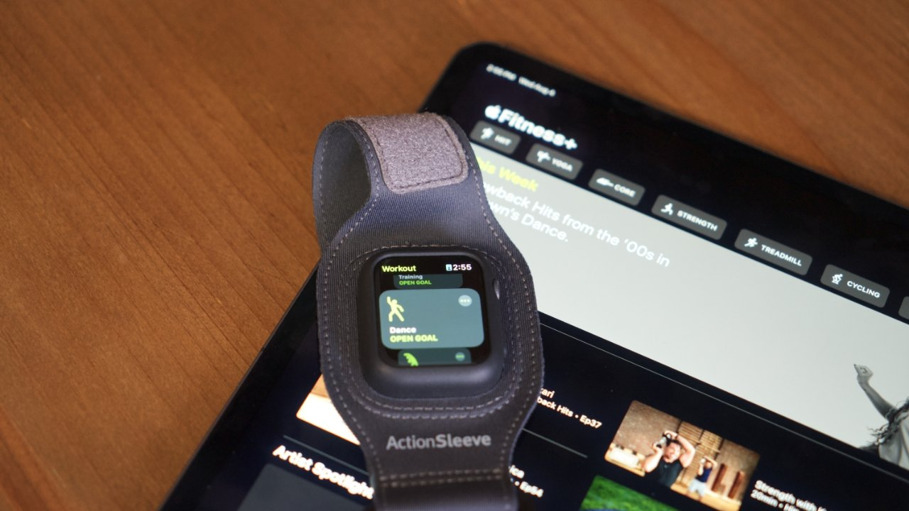 Make your Apple Fitness+ workouts easier with an armband