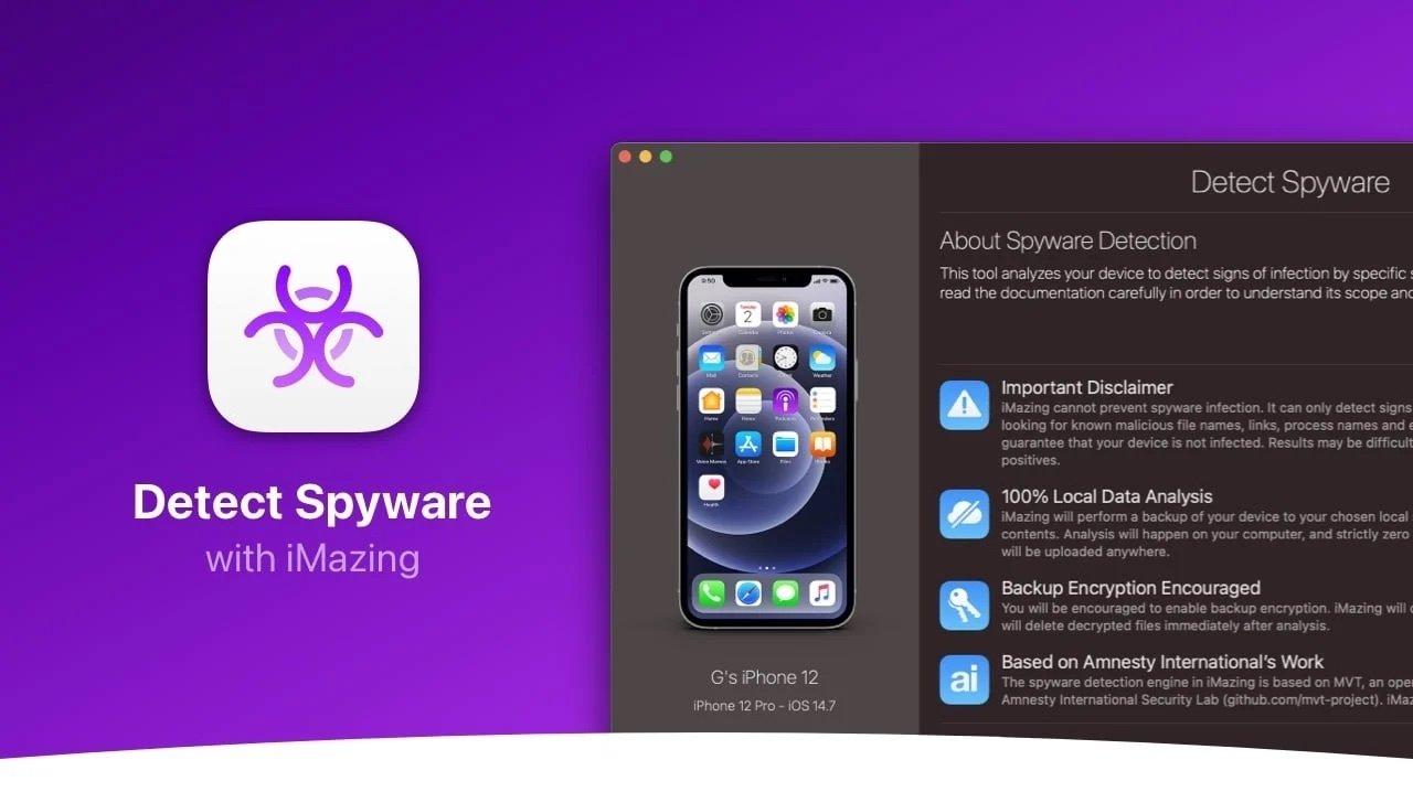 iOS admin app iMazing offers free tool that can detect Pegasus spyware