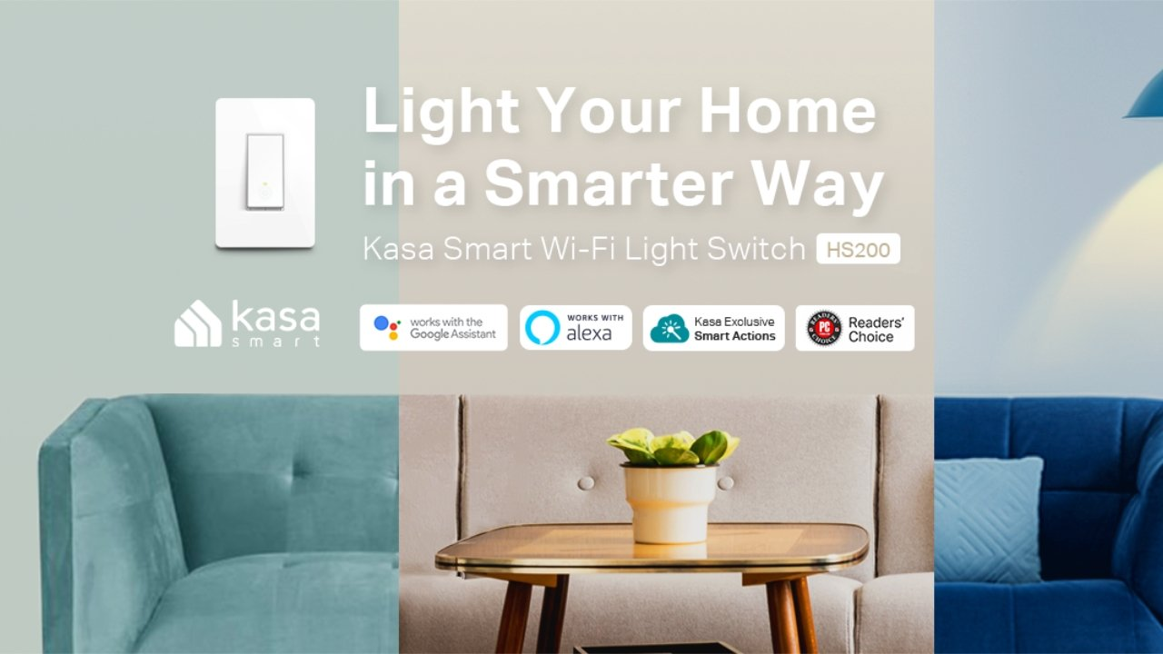 Kasa Smart switch for only $11.30