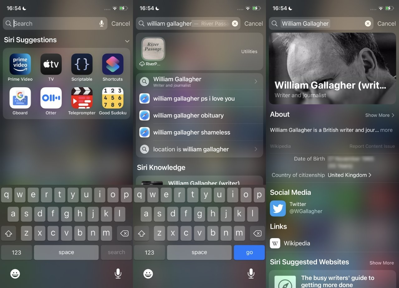 Spotlight now gives you much richer search results