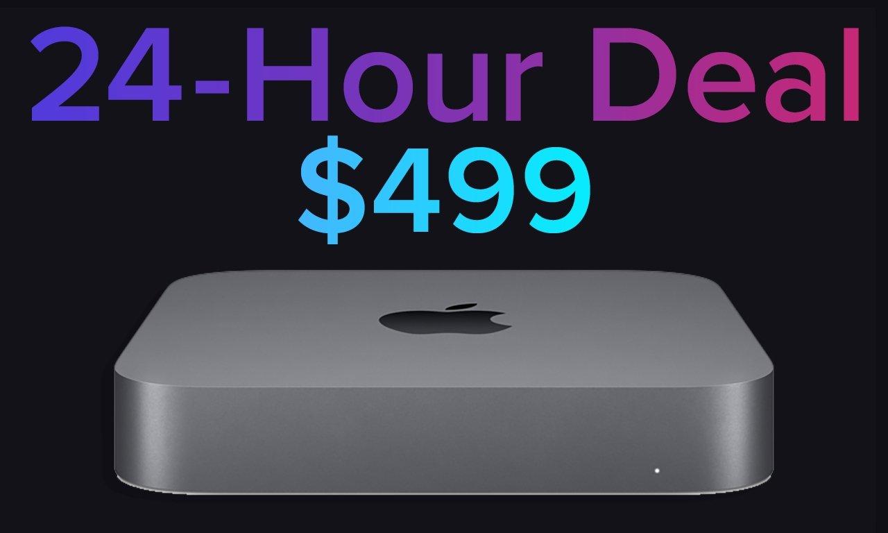 24-hour Flash deal: Apple's Intel Mac mini discounted to $ 499