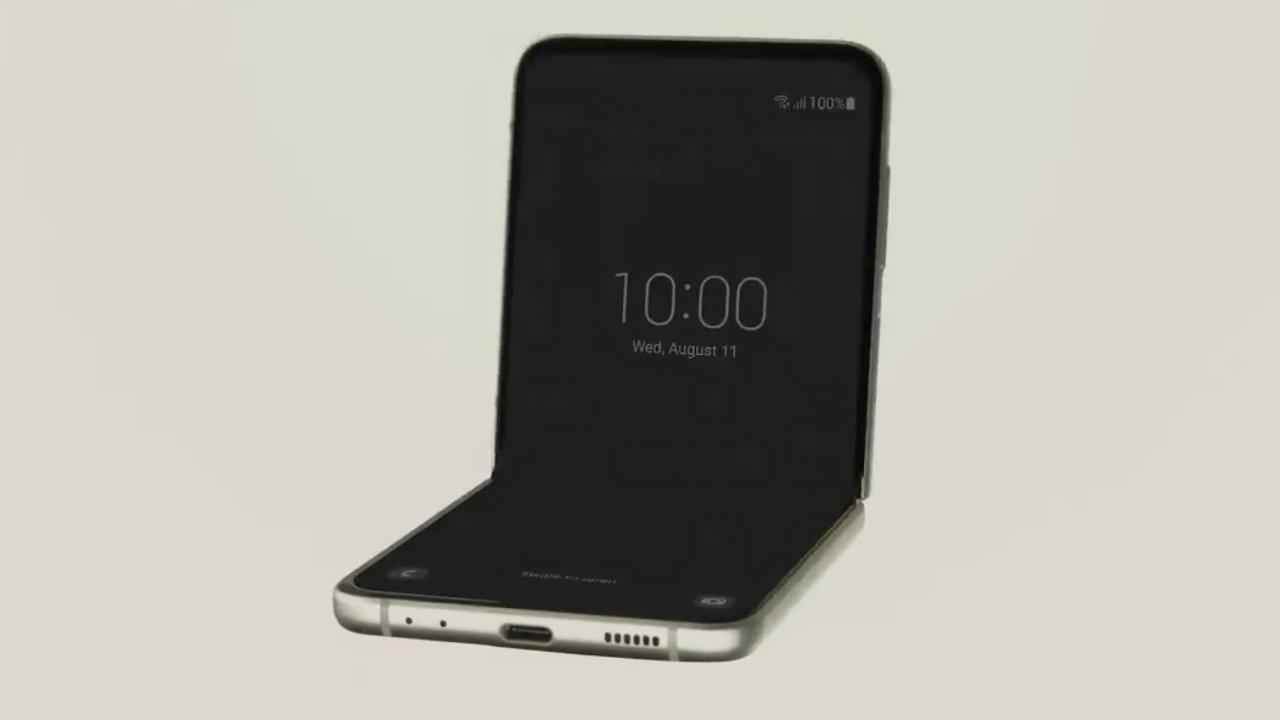 The Samsung Galaxy Flip3 5G