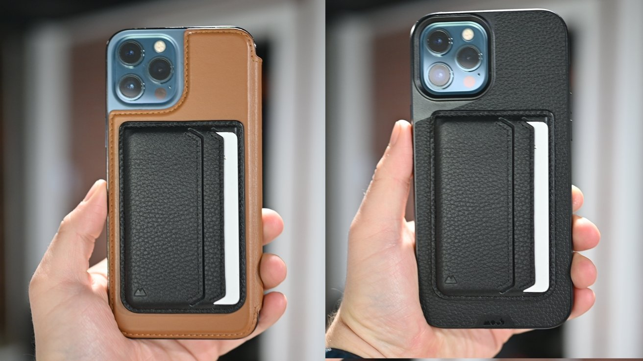 Mous Wallet on SurfacePad from Twelve South and the Mous Limitless 4.0 case