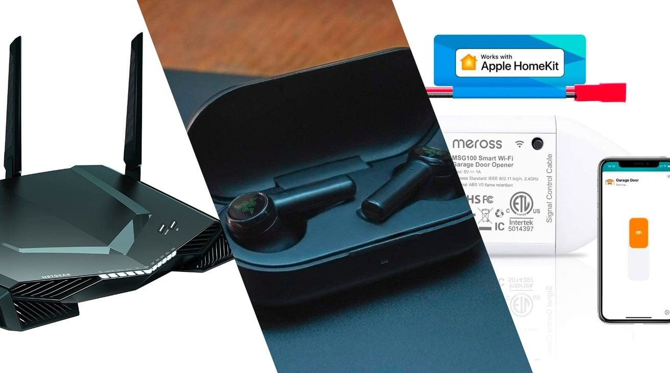 Finest Offers August 22 –  Razer Hammerhead, 0 off Netgear gaming router | AppleInsider