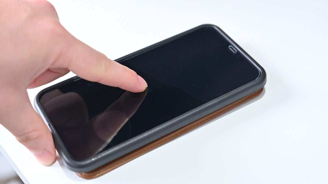 Applying the screen protector
