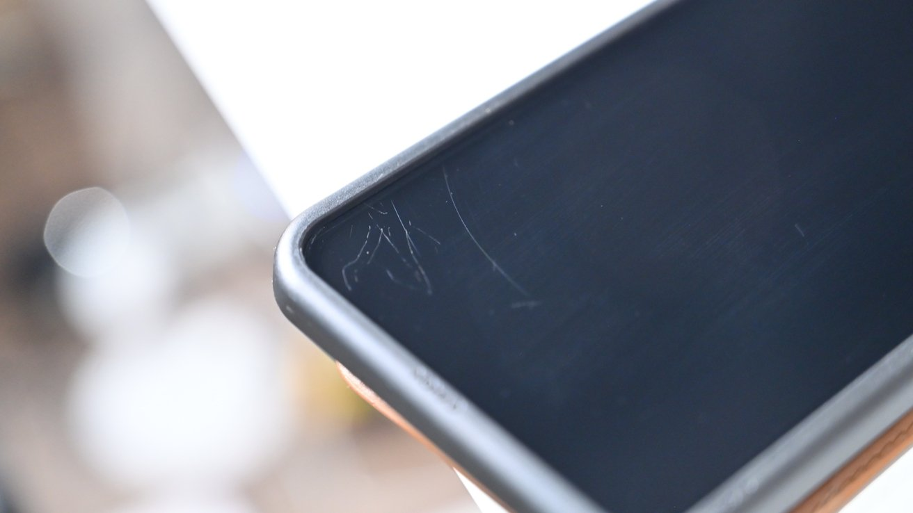 Micro scratches on our displays