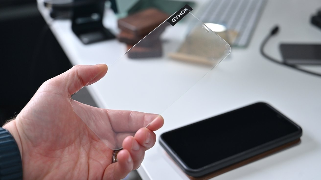 Nomad's new screen protector is tempered glass