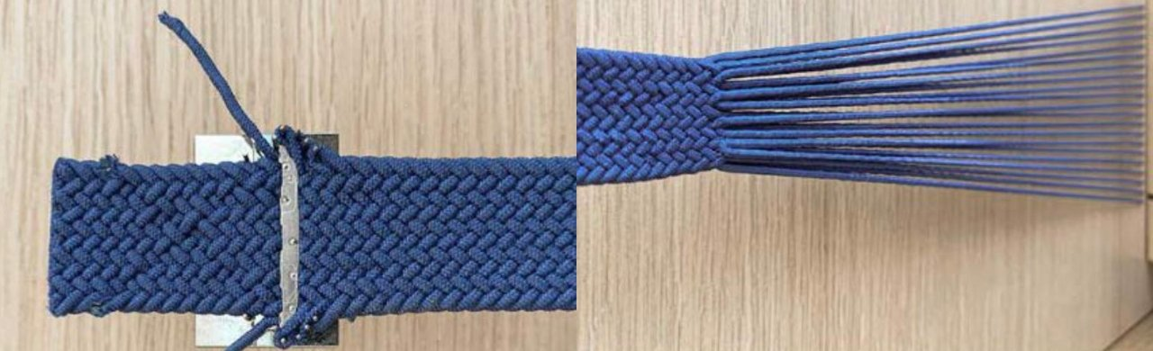 It's unlabelled, but leaker Majin Bu says this is a 45mm Apple Watch band