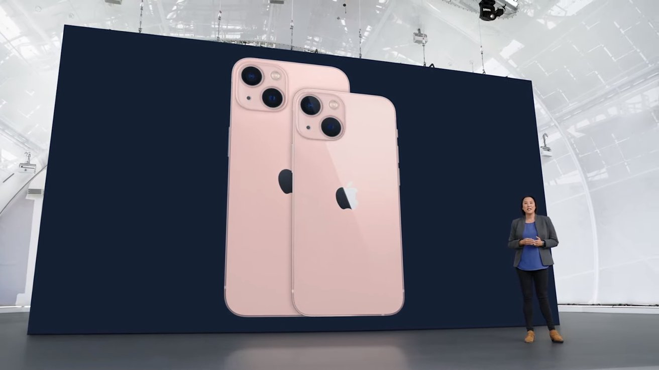 The iPhone 13 mini has the same features as iPhone 13