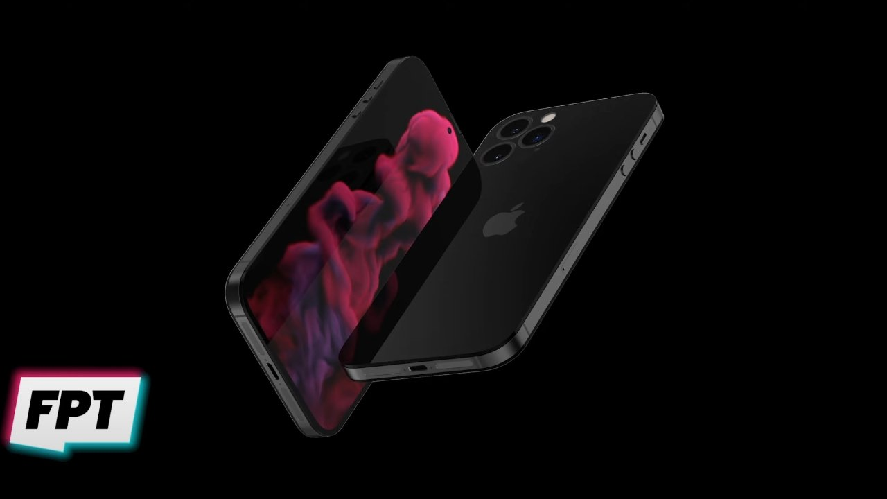 'iPhone 14' render Image credit: Jon Prosser and Front Page Tech
