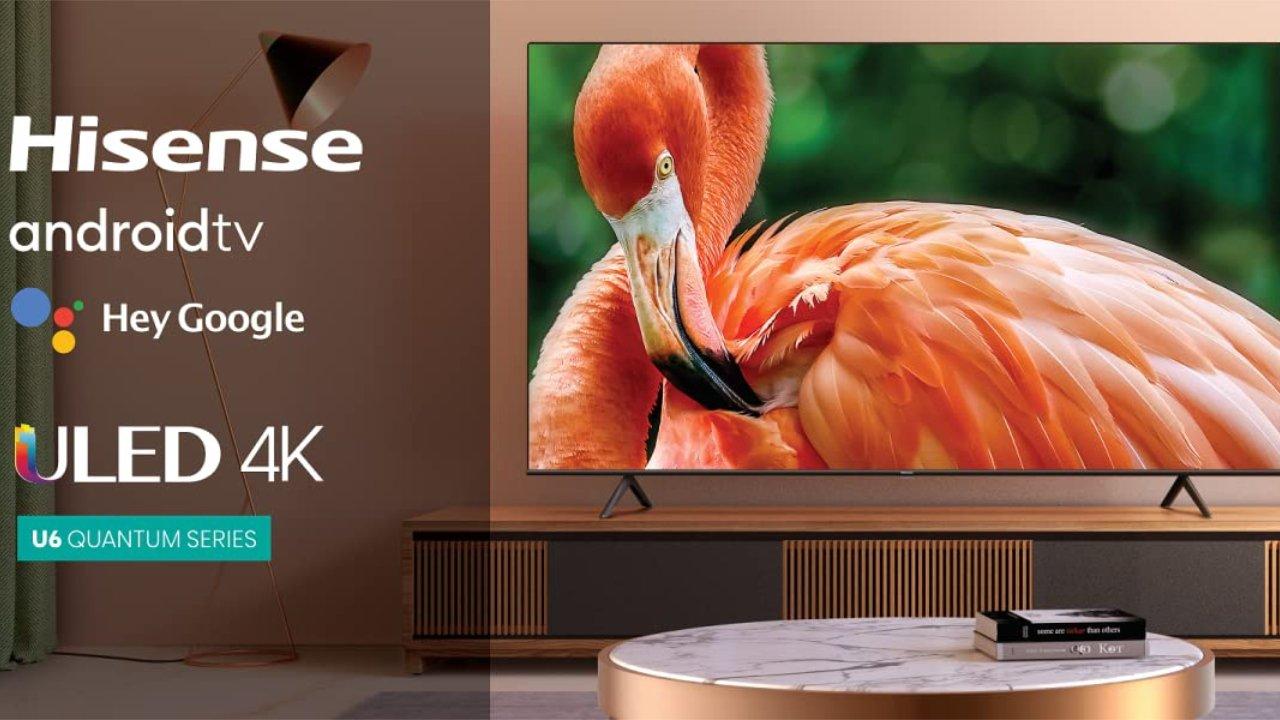 20% off Hisense ULED 4K Premium 65-inch TV