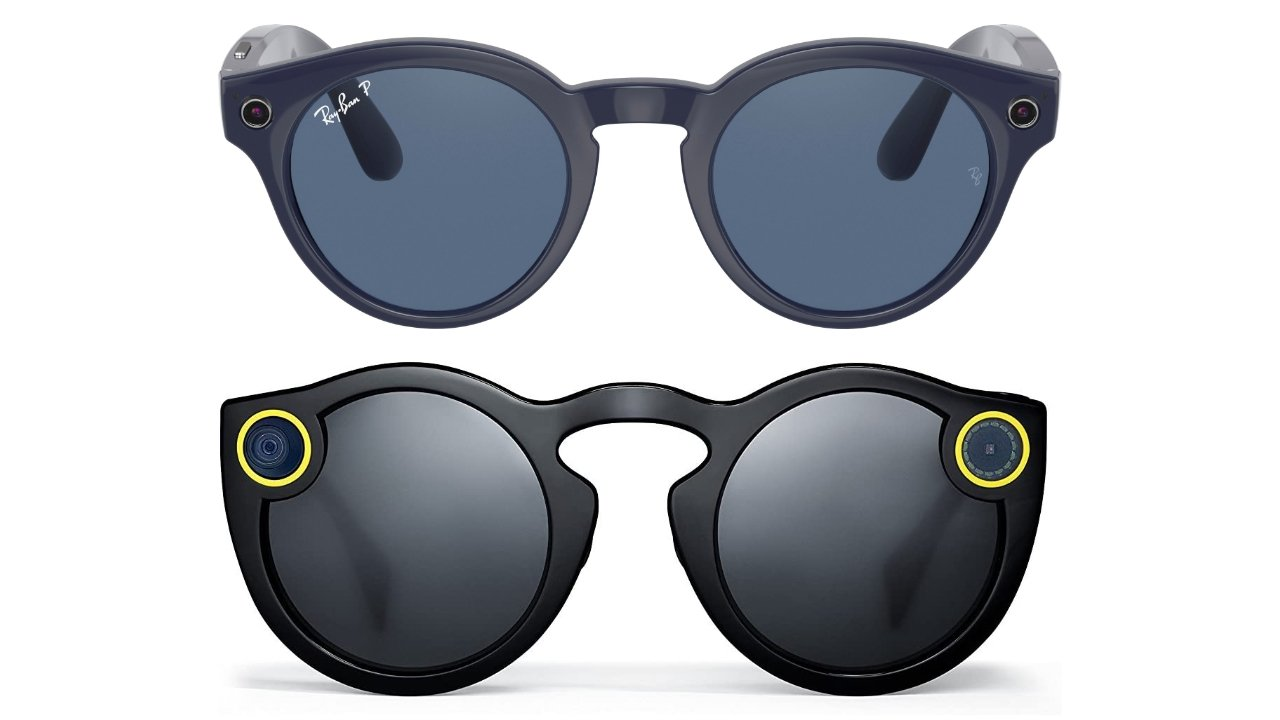 Ray-Ban Stories Round look like a better designed Snap Spectacles