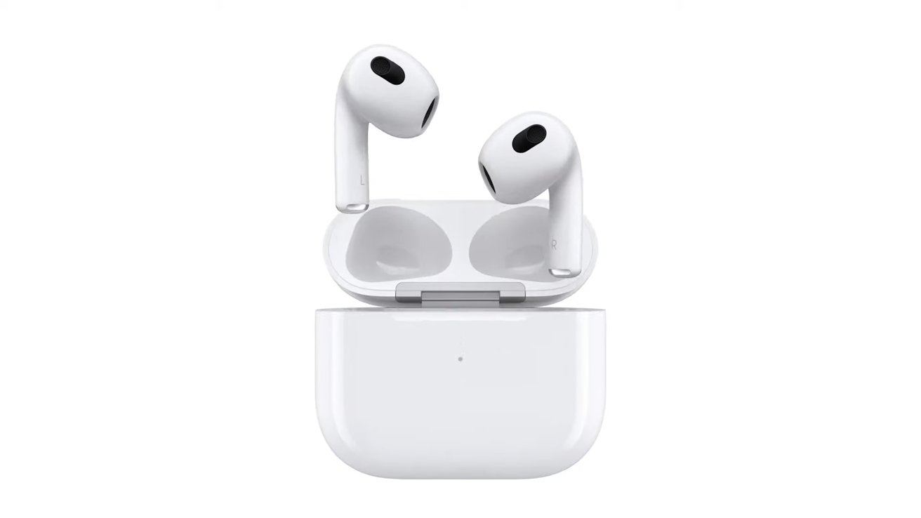 The new design of AirPods