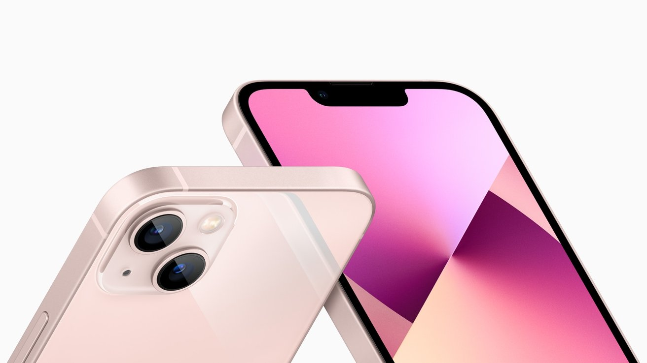 There's some camera tweaks in the iPhone 13 mini, including a smaller notch.