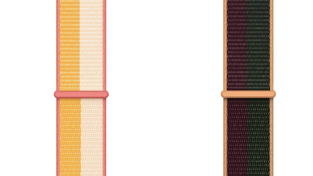 Apple Watch Sport Loop in new striped colorways