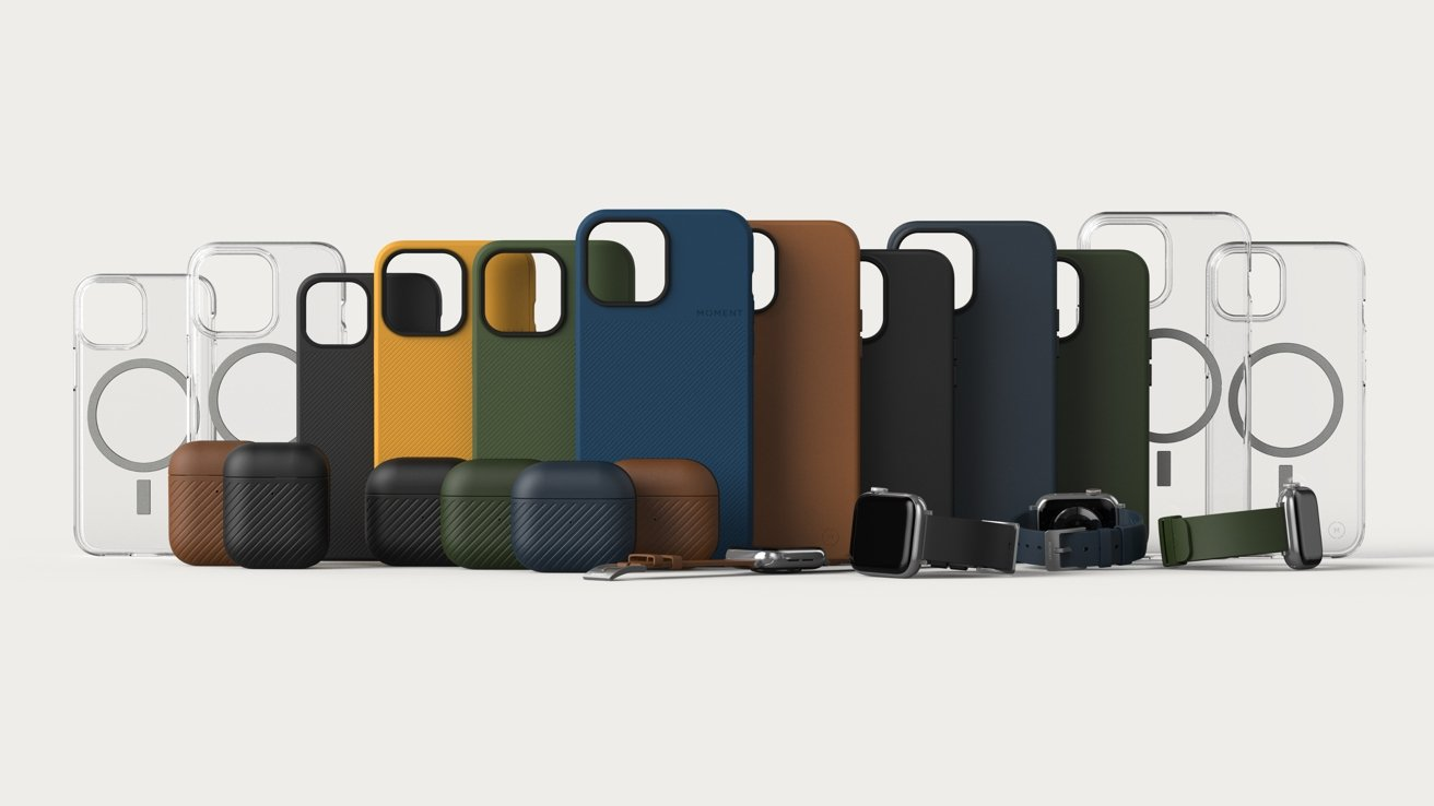 photo of Moment expands accessory range to iPhone 13, AirPods, Apple Watch image