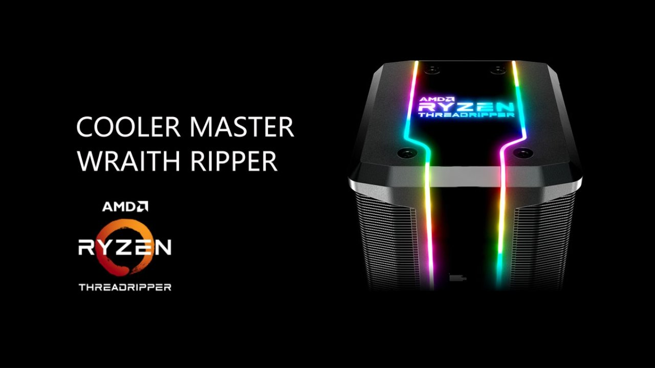 80% off Cooler Master AMD Wraith Ripper