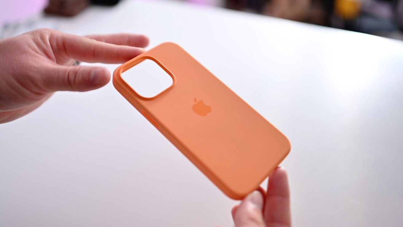 Apple's silicone case for iPhone 13 Pro