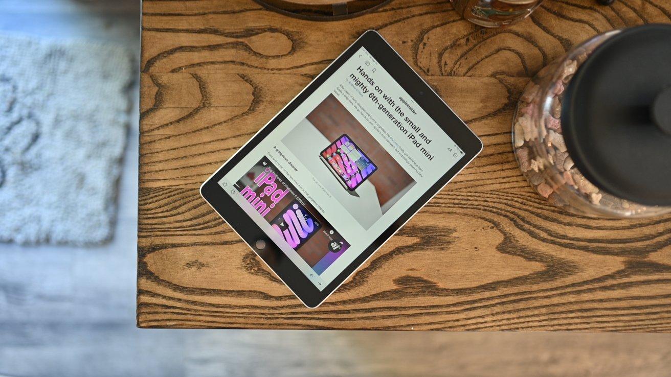 The 9th generation iPad