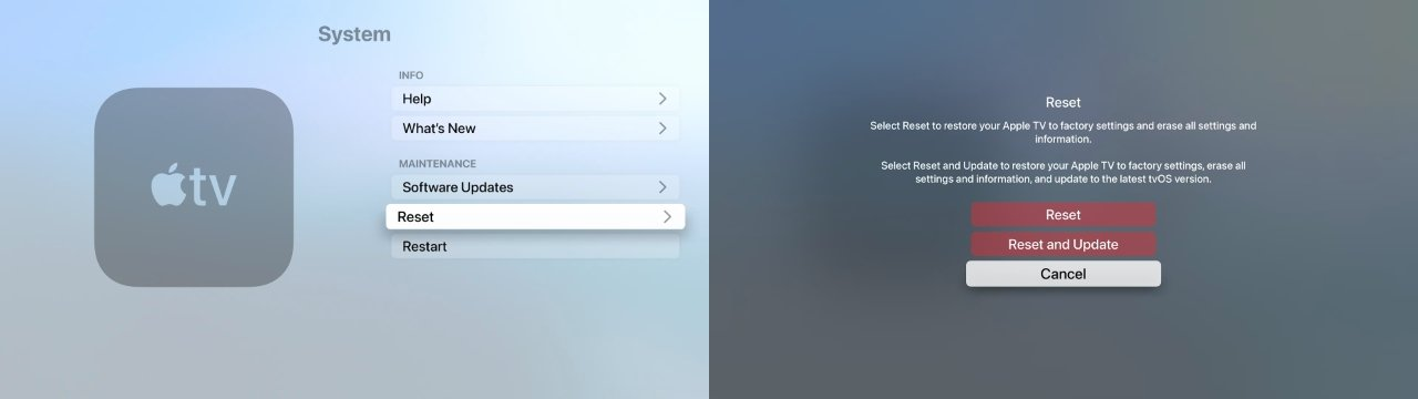 How to reset your Apple TV 4K or Apple TV HD