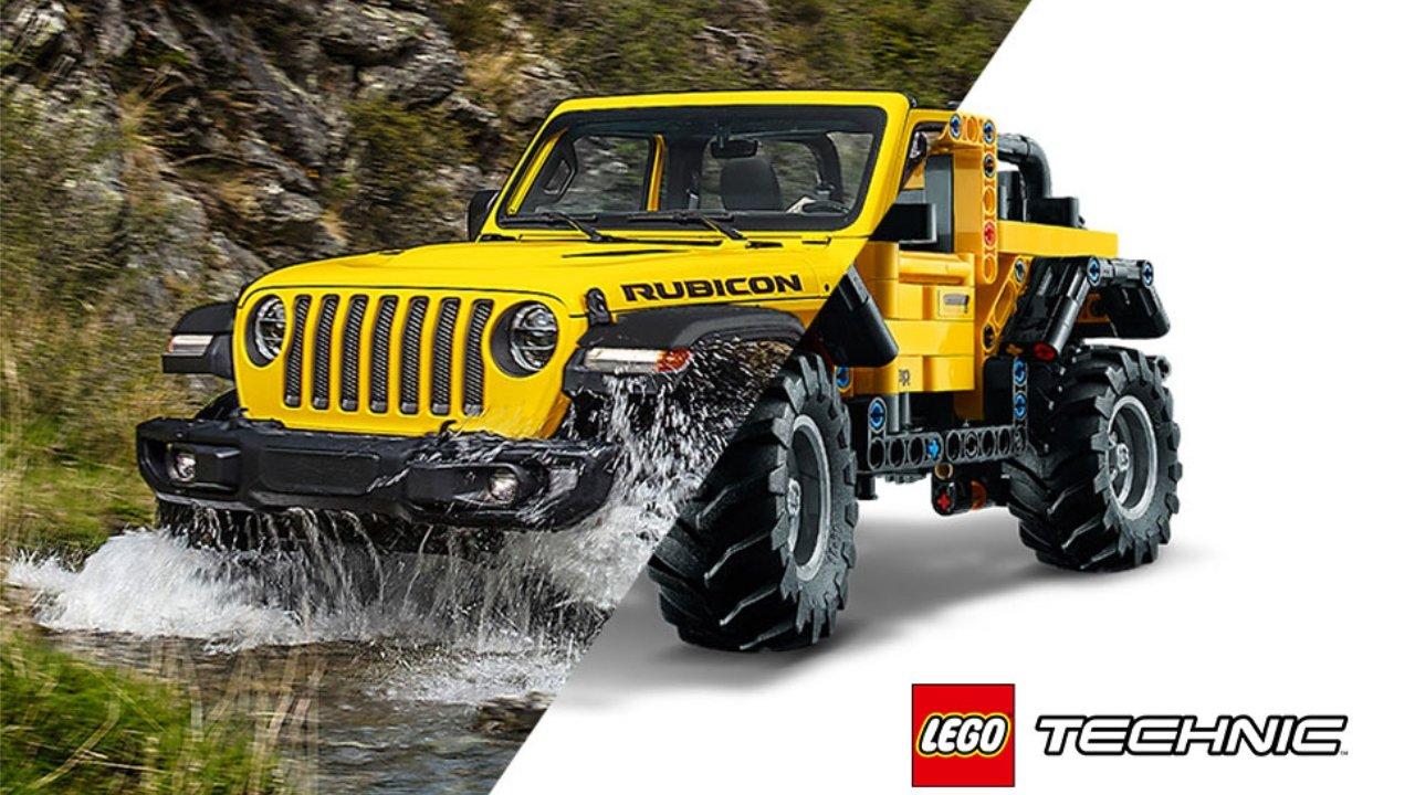 $10 off LEGO Technic Jeep Wrangler