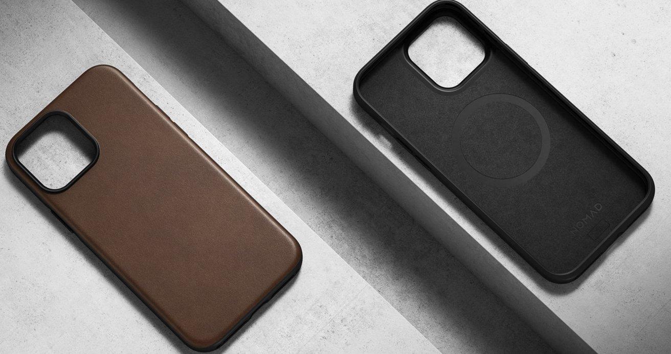 Nomad's Modern leather case