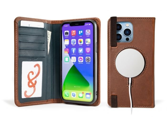 LeatherSafe PocketBook for iPhone 13 Pro Max