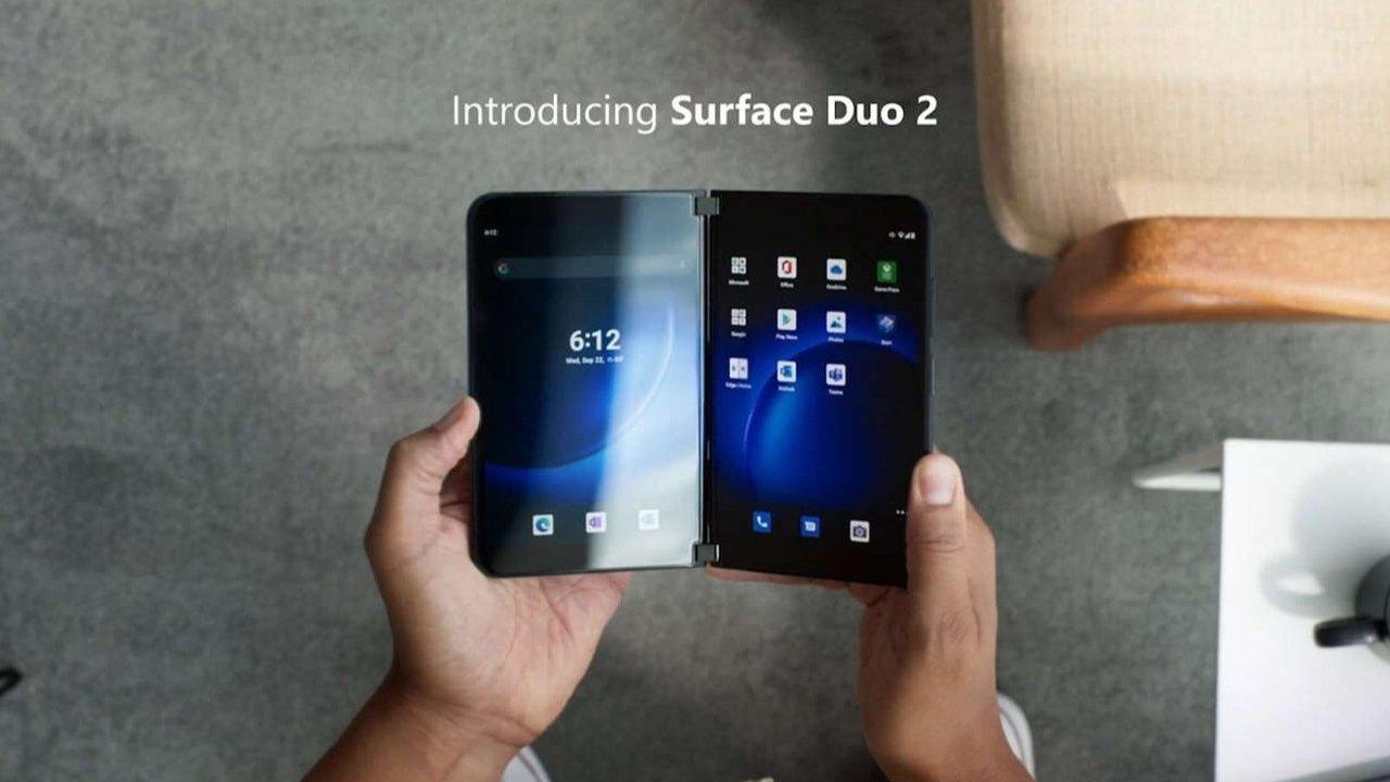 Surface Duo 2 tiene una nueva bisagra