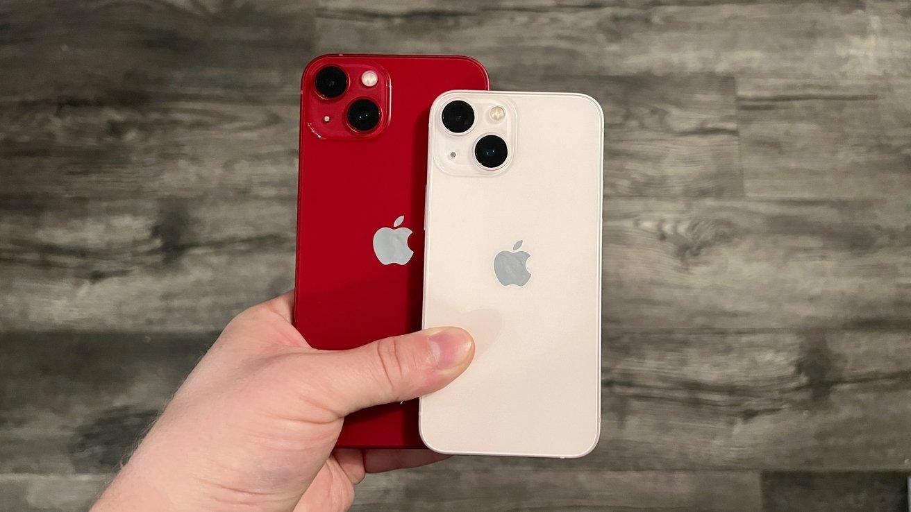 Comparing iPhone 13 to iPhone 13 mini