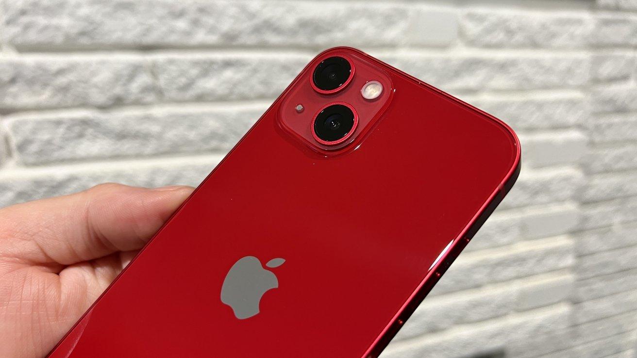 Camera on iPhone 13