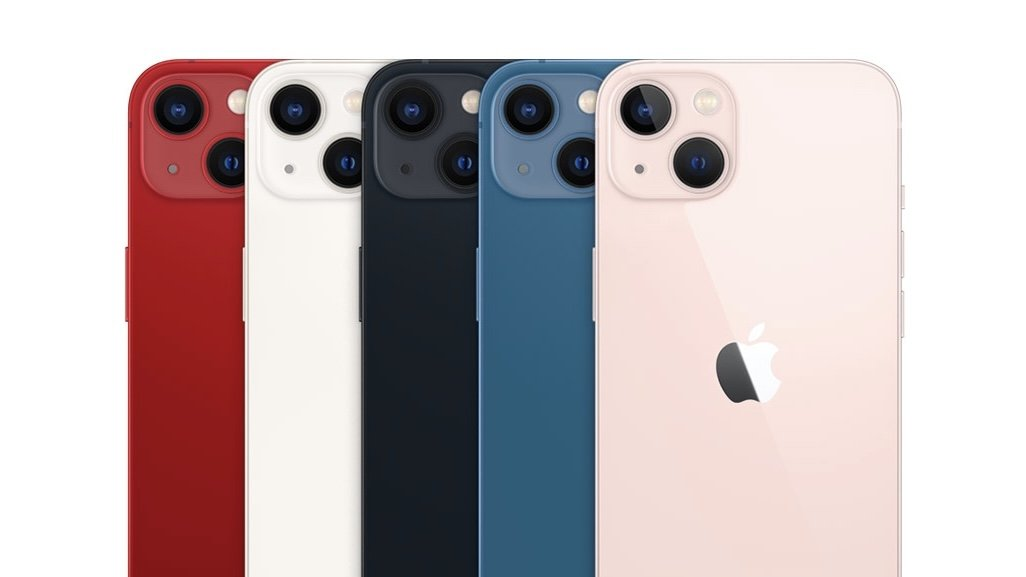 New colors of iPhone 13