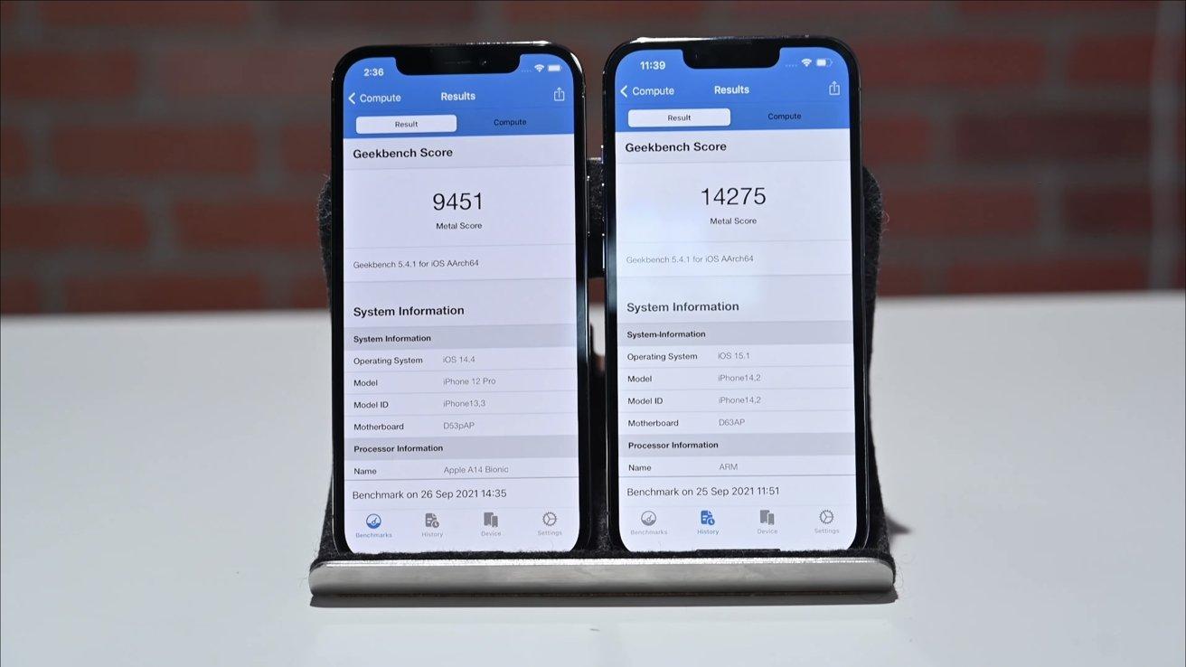 IPhone 12 Pro vs iPhone 13 Pro