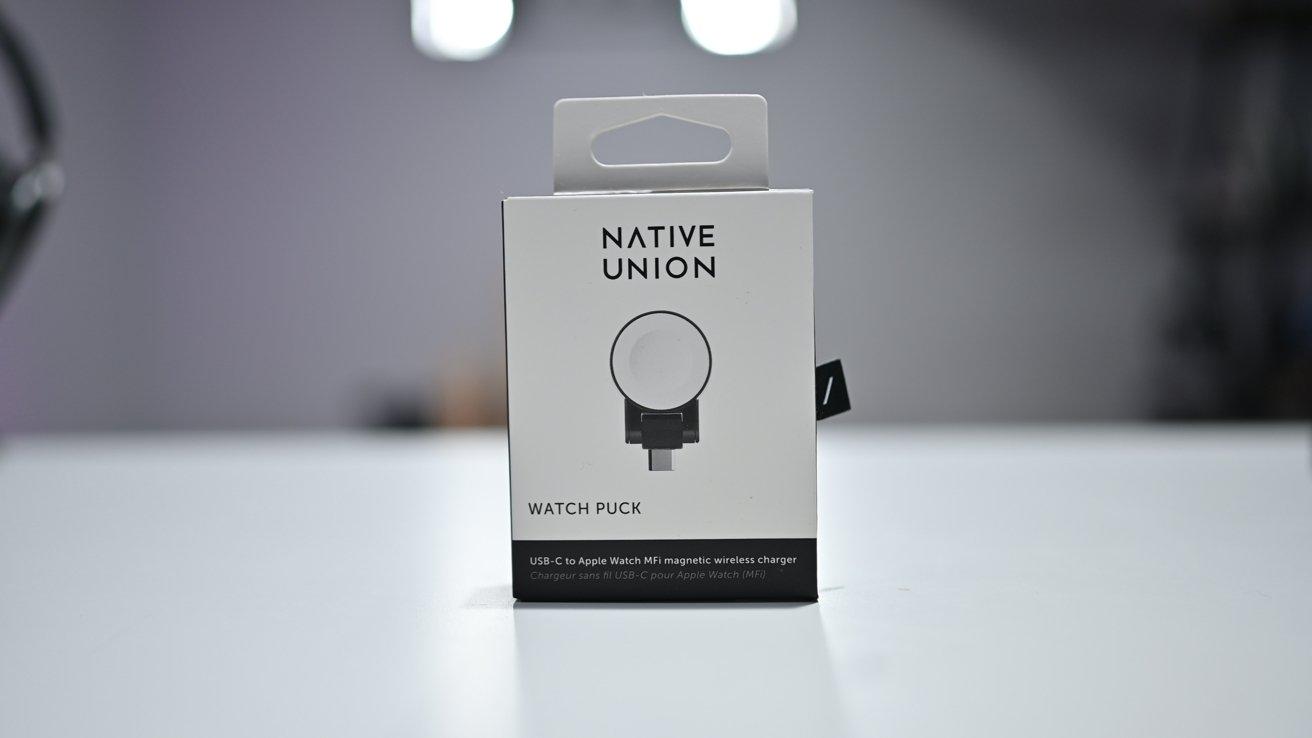 Native Union Watch Puck box