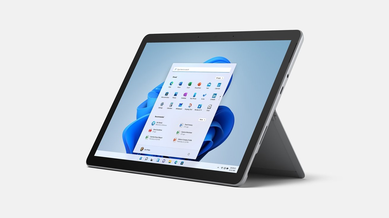 As a tablet, the Surface Pro 8's biggest draw for some users probably is that it runs Windows.