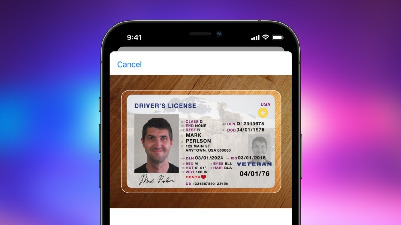 States agree to support ID in Apple Wallet