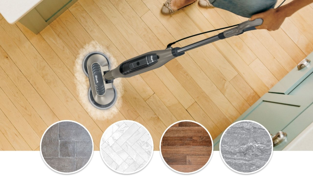 $30 off Shark Steam and Scrub All-in-One Scrubbing and Sanitizing Hard Floor Steam Mop