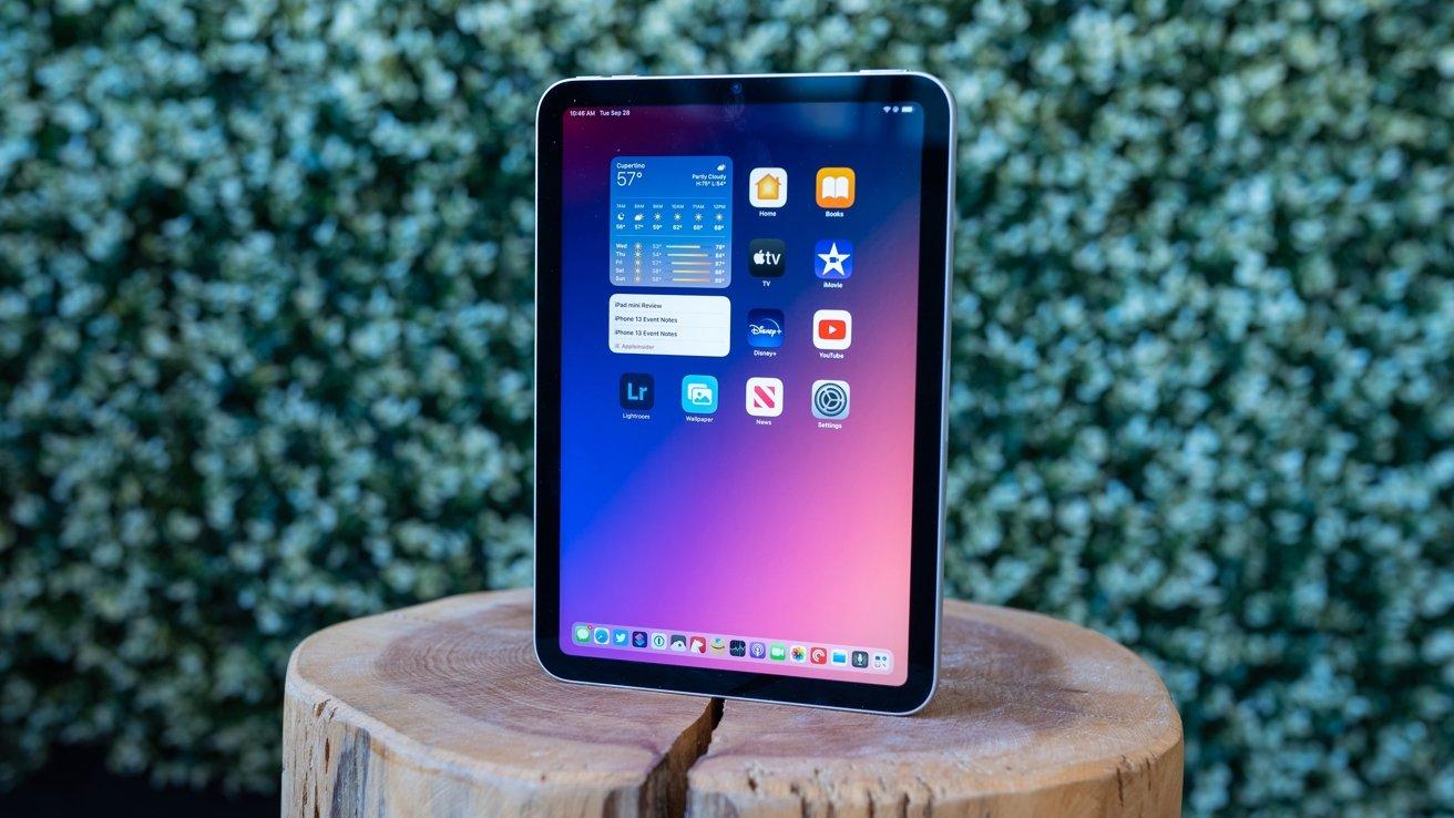 2021 iPad mini outdoors