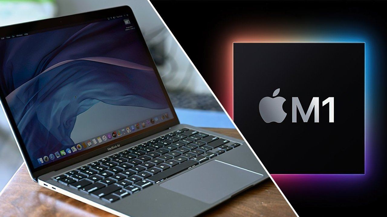 Apple MacBook Air in Gray with M1 chip