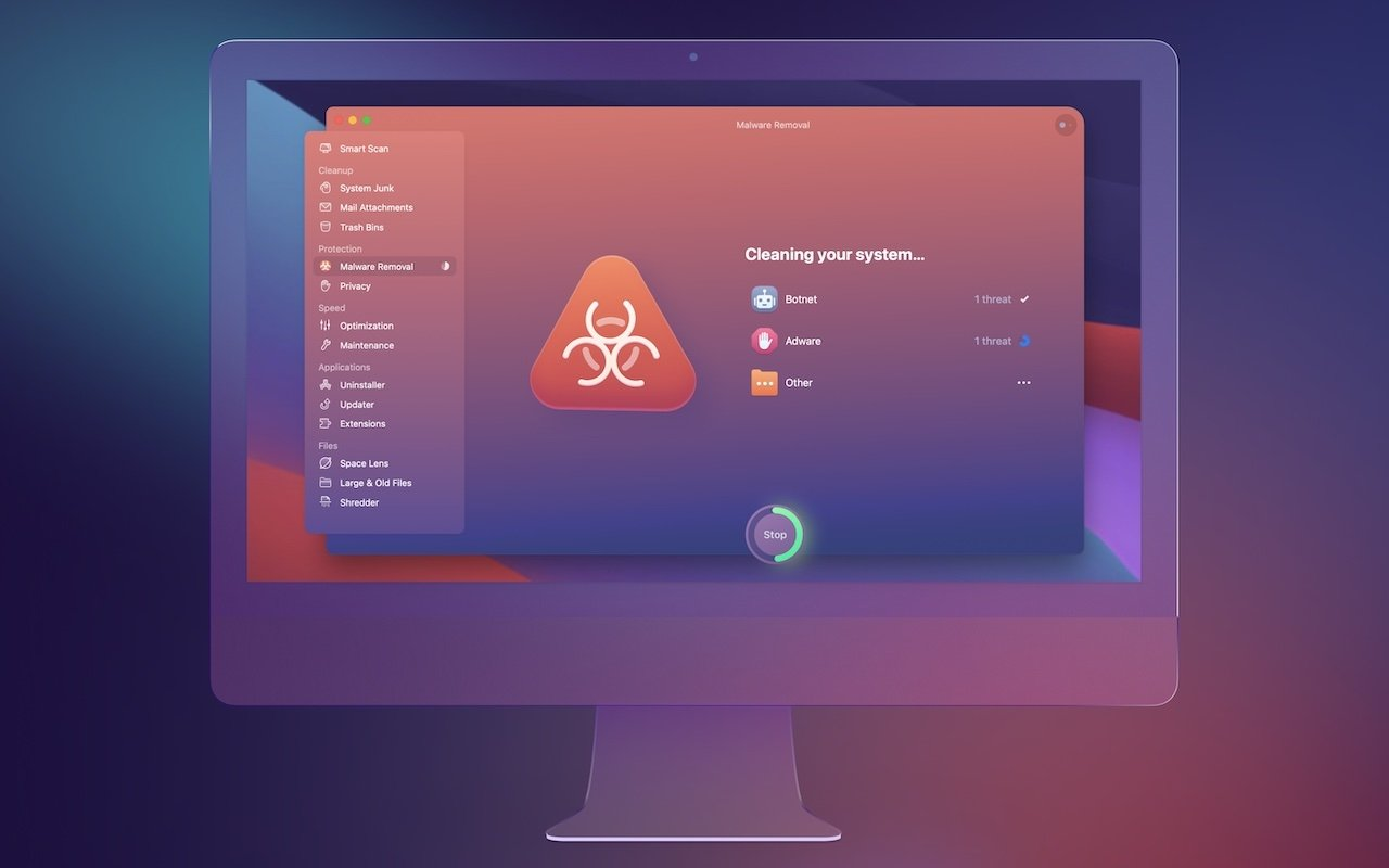 CleanMyMax X is also a capable anti-malware tool, letting you find and eliminate potential threats to your Mac.
